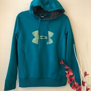 Under Armour Blue Hoodie Size SM/P